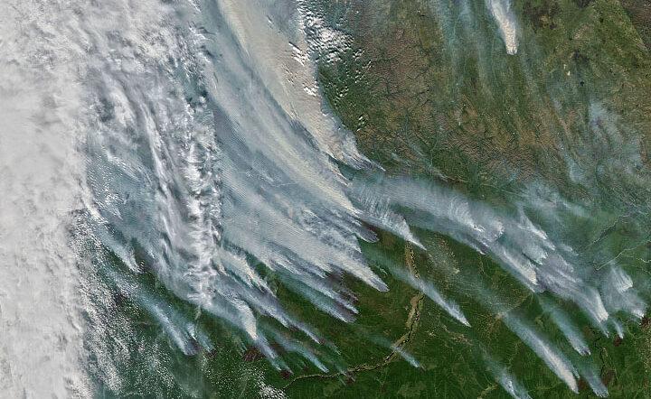 An Unusually Smoky Fire Season in Sakha